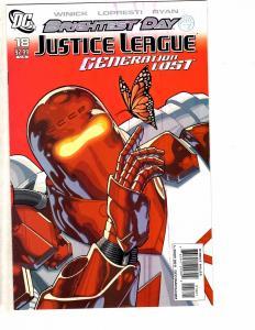 Lot Of 4 JLA Generation Lost DC Comics # 18 19 20 21 VARIANTS NM 1st Prints LH25