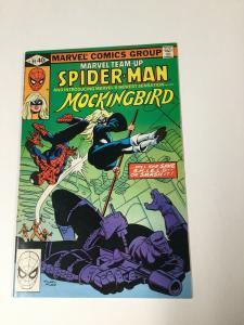 Marvel Team-up 95 8.5 Vf+ Very Fine+ 1st Mockingbird