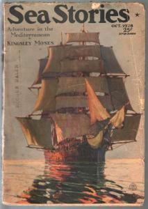 Sea Stories 10/1928-Frank H Shaw-Arthur Mason-G