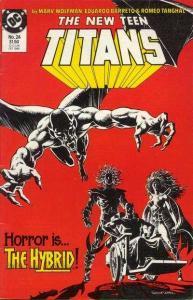New Teen Titans (1984 series) #24, VF+ (Stock photo)
