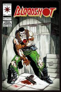 Bloodshot #8 (1st series)  9.0 VF/NM