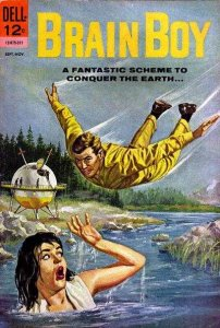 Brain Boy (1962 series) #6, VG (Stock photo)