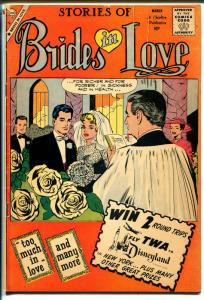 Stories of Brides In Love #17 1960-Charlton-wedding cover-spicy romance art-VG