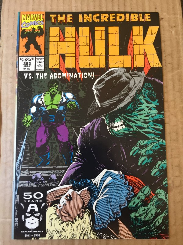 The Incredible Hulk #383 (1991)
