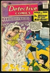 Detective Comics #285 1960- Batman- Robin DC Silver Age VG-