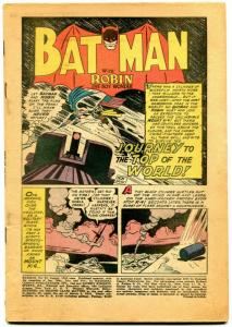 Batman #93 1955- DC Silver Age- coverless reading copy