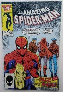 Amazing Spider-man 276   Hobgoblin Unmasked   NM+   1986   Marvel Comic  