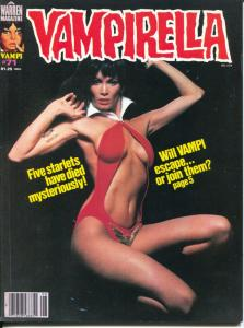 Vampirella #71 1978-Warren-spicy Barbara Leigh photo cover-Nicola Cuti-FN