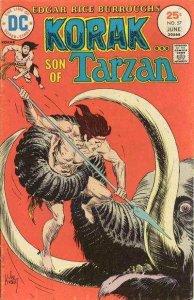 Korak: Son of Tarzan (1972 series) #57, VF- (Stock photo)