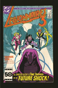 DC Comics Legionnaires 3 No 1 1985