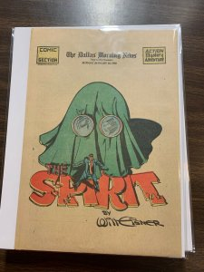 The Spirit Comic Book Section Newspaper Very Fine Or Better 1942 January 18