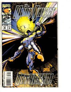 Moon Knight # 56 NM Marvel Comic Book S. Platt Cover Art Avengers Hulk Thor CR45