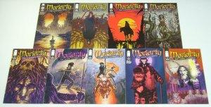 Moriarty #1-9 VF/NM complete series - sherlock holmes villain - image comics set
