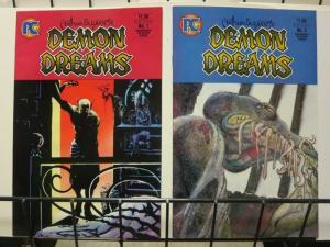 DEMON DREAMS 1-2 pre Zombies ART SUYDAM LOOSE