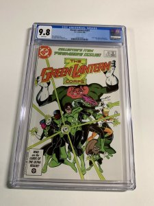Green Lantern #201 CGC graded 9.8 1st appearance of Kilawog