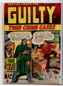 JUSTICE TRAPS THE GUILTY #5 (Prize 1947) GD+ 2.5 Simon & Kirby PRE-CODE CRIME