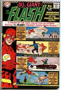 FLASH #160 GIANT JOHNNY QUICK BEATNIKS KID FLASH-1966 VF