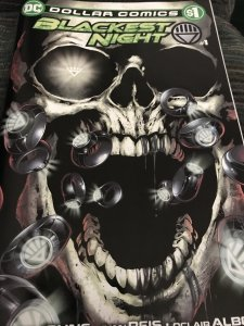DC Blackest Night #1 Dollar Comics Mint