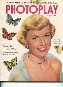 Photoplay-Doris Day-Rita Hayworth-Kirk Douglas-Mario Lanza-Aug-1951