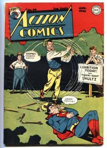 Action Comics #99 1946- Superman- Golf Cover-DC Golden-Age