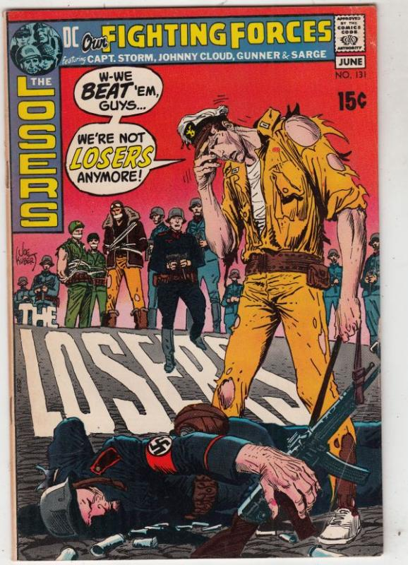 Our Fighting Forces #131 (Jun-71) FN/VF Mid-High-Grade The Loosers