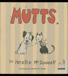 MUTTS TRADE PAPERBACK- PAT MCDONNELL-CHARLES SCHULZ VF/NM