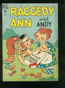 RAGGEDY ANN AND ANDY-FOUR COLOR #262 1950-DELL VG