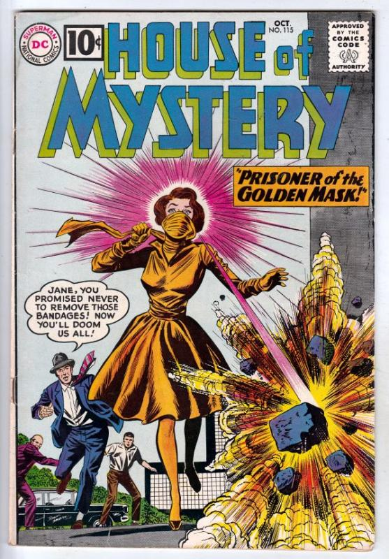 House of Mystery #115 (Oct-61) FN/VF Mid-High-Grade
