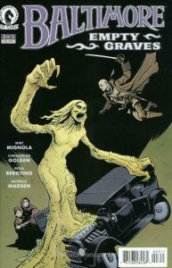 Baltimore: Empty Graves #3 VF; Dark Horse | save on shipping - details inside