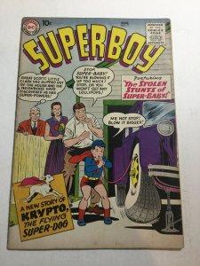 Superboy 71 Vg- Very Good- 3.5 DC Comics