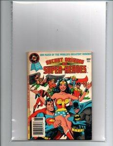 Secret Origins of Super-Heroes - DC Blue Ribbon Digest #19 - 1979 - VF+