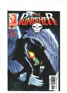 Punisher #2 VF 8.0 Marvel Knights 1998  Bernie Wirghtson Cover