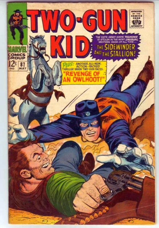 Two-Gun Kid #87 (May-67) VG/FN+ Mid-Grade Two-Gun Kid