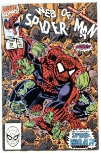 Web Of Spider-man #70 1990-SPIDER-HULK- vf+
