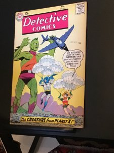 Detective Comics #270 (1959) 1960s alien vs. Batman,  John Jones high grade!