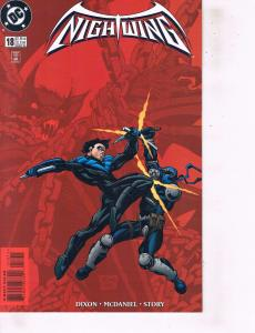 Lot Of 2 DC Comic Books Nightwing #18 and Legends of the Dark Knight #20 ON2