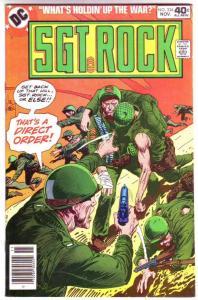 Sgt. Rock #334 (Nov-79) NM/NM- High-Grade Sgt. Rock
