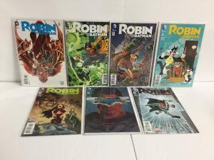 Robin Son Of Batman 3-6 9-11 Variant Lot Nm Near Mint New 52.   IK