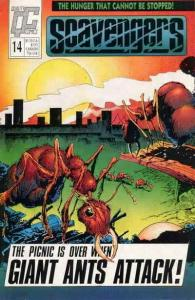 Scavengers (Fleetway/Quality) #14 VF/NM; Fleetway Quality | save on shipping - d