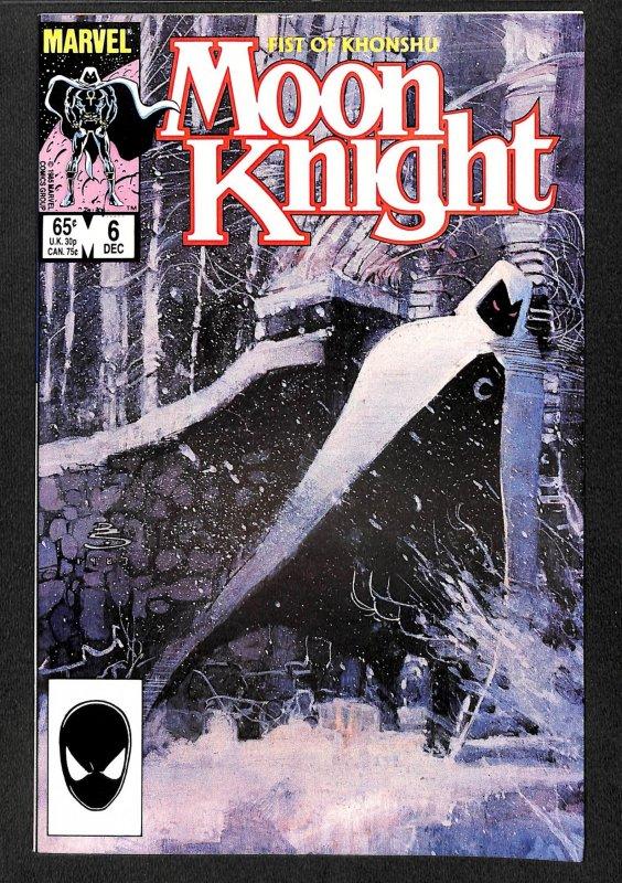Moon Knight: Fist of Khonshu #6 (1985)