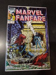 MARVEL FANFARE #12 - 1ST COVER IRON MAIDEN - BLACK WIDOW MOVIE NM