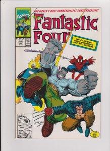 FANTASTIC FOUR #348 VF/NM NEW FF 1990 MARVEL COMICS ARTHUR ADAMS ARTWORK