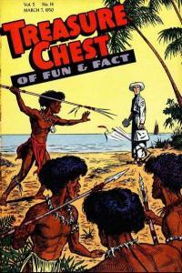 Treasure Chest: Volume 5 #14, Fine+ (Stock photo)