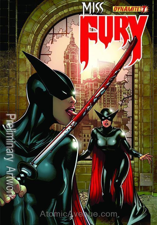 Miss Fury (Dynamite, Vol. 1) #7D VF/NM; Dynamite | save on shipping - details in