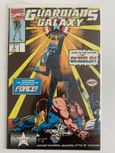 Guardians of The Galaxy #6 The Shield Marvel Comics VF+