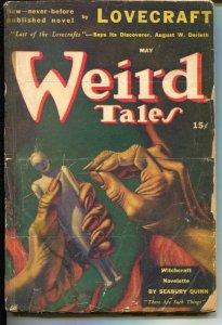 Weird Tales 5/1941- original HP Lovecraft-Seabury Quinn-pulp horror