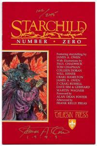Starchild #0 Signed by James Owen Ltd Edition #102/240 (Taliesin, 1993) VF/NM