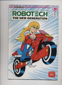 Robotech: The New Generation #6 (1986)