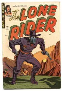 Lone Rider #5 1951- Western Golden Age comic VG