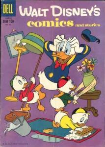 Walt Disney's Comics and Stories #222, VG (Stock photo)